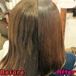 髪質改善ストレートから1ヶ月後の髪の様子は?