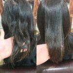 脱縮毛矯正なら髪質改善トリートメント?
