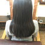 半年ぶりの髪質改善ストレート〜ロングヘア編〜