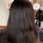 髪質改善トリートメントやってるけどやっぱりクセをとりたい。