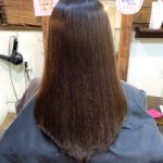 髪質改善トリートメント5回目のお客さま。