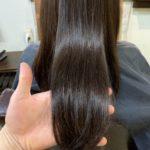 髪質改善トリートメントカラーはこんな感じになりました。