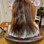 髪質改善ストレートをグレードアップ。