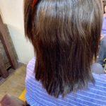 髪質改善ストレートの2回目。