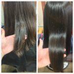 パーマや地毛のウェーブを活かして髪質改善トリートメント