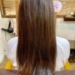 髪質改善ストレートで初めての方。