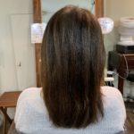 髪質改善トリートメントを初めてお試しのお客様。