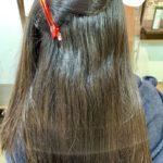 髪質改善ストレートで梅雨時の膨らみ解消