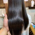ブログからのご来店で髪質改善トリートメントカラー