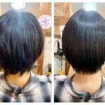 ショートの髪質改善ストレートから3ヶ月後の髪の状態は?