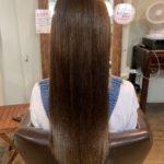 ビフォーできれいでも髪質改善トリートメント