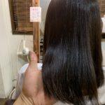 髪質改善ストレートで夏対策。