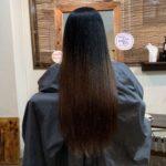 8月最後も髪質改善トリートメント。