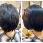 ここから3回目の髪質改善ストレート。