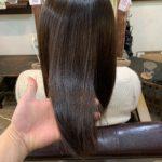 10ヶ月ぶりの髪質改善ストレート