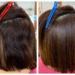 細くて柔らかいけどうねりの強い髪には髪質改善ストレートがオススメ