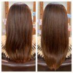 髪質改善トリートメントでケアしながらの1年の髪。