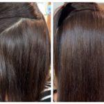4ヶ月開けての髪質改善ストレート。